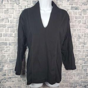 3/$25 Rafaella size 3X tops 3/4 sleeve. #171